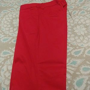 Body by Victoria red pants